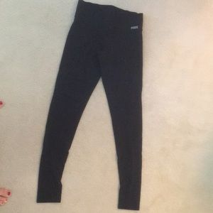 59ddedf57 Pants - victoria secret - pink skinny yoga pants